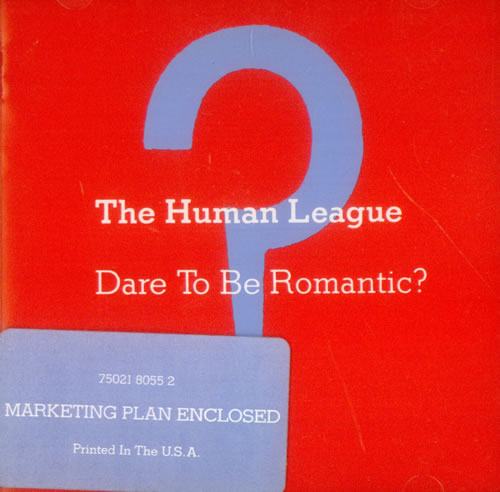 Human League Dare To Be Romantic 1990 Usa Cd Album 7502180552