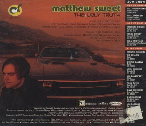 Matthew Sweet The Ugly Truth 1993 Usa Cd Single Zp17128 2