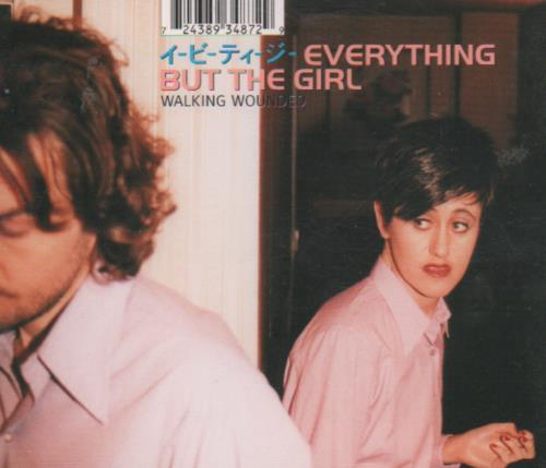 Everything But The Girl Walking Wounded 1996 Uk Cd Single Vscdt1577