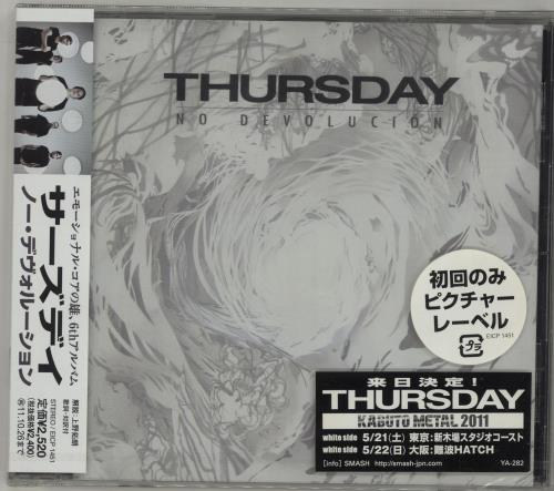 Click to view product details and reviews for Thursday No Devolucion Obi Sealed 2011 Japanese Cd Album Eicp1451.