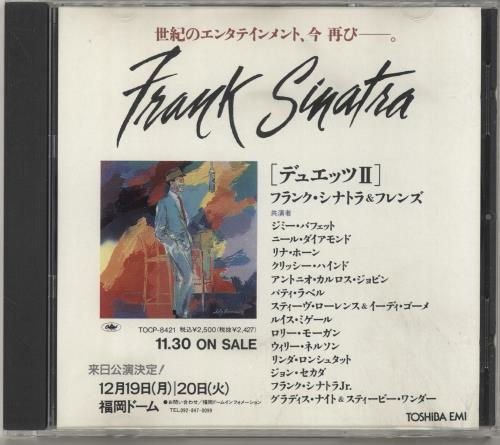 Click to view product details and reviews for Frank Sinatra Duets Ii 1994 Japanese Cd Album Tocp 8421.