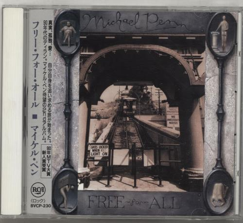 Click to view product details and reviews for Michael Penn Free For All 1992 Japanese Cd Album Bvcp 230.