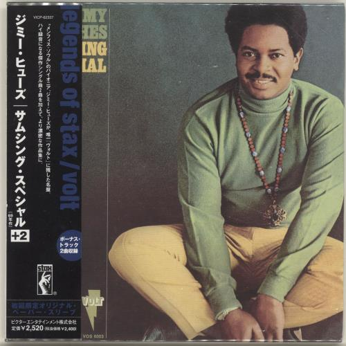 Click to view product details and reviews for Jimmy Hughes Something Special Sealed 2003 Japanese Cd Album Vicp 62337.
