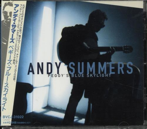 Click to view product details and reviews for Andy Summers Peggys Blue Skylight 2000 Japanese Cd Album Bvcd 31022.