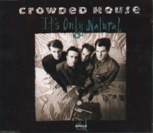 Click to view product details and reviews for Crowded House Its Only Natural 1992 Dutch Cd Single 2045822.