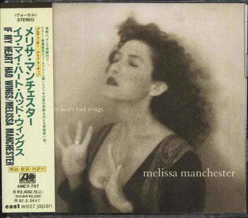 Click to view product details and reviews for Melissa Manchester If My Heart Had Wings 1995 Japanese Cd Album Amcy 757.