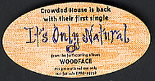Click to view product details and reviews for Crowded House Its Only Natural 1991 Usa Cd Single Dpro 79738.