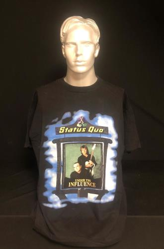 CHEAP Status Quo Under The Influence 1999 UK t-shirt T-SHIRT 25934522385 – General Clothing