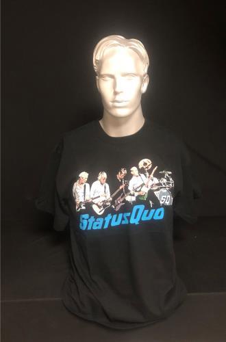 CHEAP Status Quo Quid Pro Quo – T-shirt 2010 UK t-shirt T-SHIRT 25934522521 – General Clothing