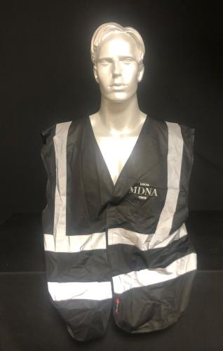 CHEAP Madonna The MDNA Tour – Crew Reflective Wasitcoat – XL 2012 UK clothing REFLECTIVE VEST 25934523125 – General Clothing