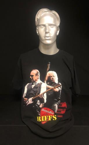 CHEAP Status Quo Riffs UK Tour 2003 – 2004 – Large 2003 UK t-shirt T-SHIRT 25934523143 – General Clothing