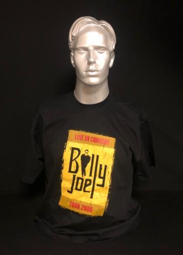 CHEAP Billy Joel Live In Concert – Tour 2006 2006 UK t-shirt TOUR T-SHIRT 25934523241 – General Clothing