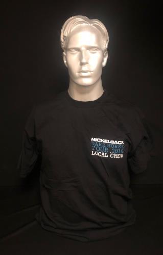 CHEAP Nickelback Dark Horse Tour 2010 – Local Crew 2002 UK t-shirt CREW T-SHIRT 25934523335 – General Clothing