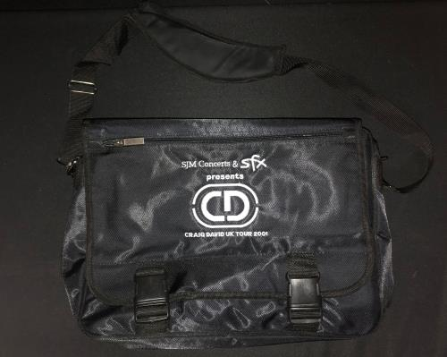 CHEAP Craig David UK Tour 2001 – Messenger Bag UK memorabilia MESSENGER BAG 25934523709 – General Clothing