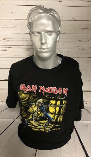 CHEAP Iron Maiden Piece Of Mind T-Shirt – XXL 2002 UK t-shirt XXL 25934528381 – General Clothing