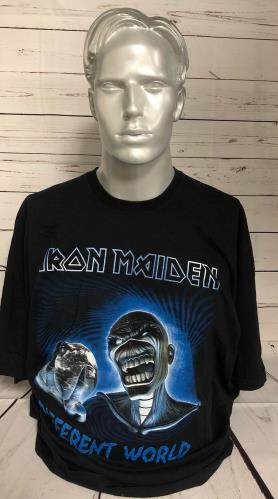 CHEAP Iron Maiden Different World – T-Shirt – XXXL UK t-shirt XXXL 25934528545 – General Clothing