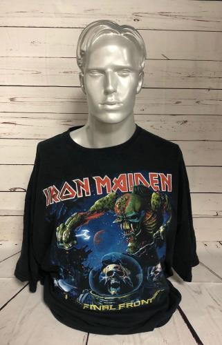CHEAP Iron Maiden The Final Frontier – XXXL 2010 UK t-shirt XXXL 25934528557 – General Clothing
