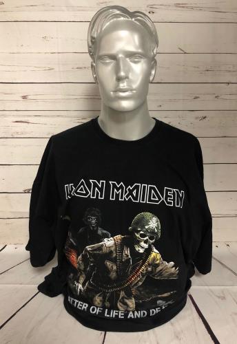 CHEAP Iron Maiden A Matter Of Life And Death Tour – T-Shirt – XXXL 2006 UK t-shirt 25934528561 – General Clothing