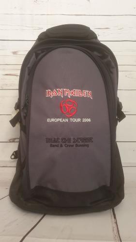 CHEAP Iron Maiden European Tour 2006 + Pass 2006 UK memorabilia CREW BAG 25934535225 – General Clothing