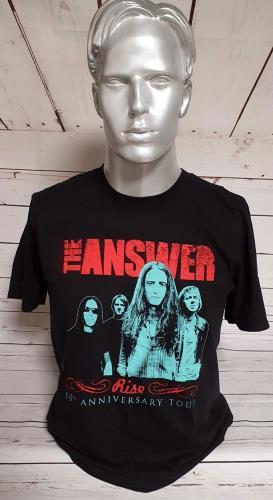 CHEAP The Answer Rise 10th Anniversary T-Shirt – Large 2016 UK t-shirt T-SHIRT 27260944757 – General Clothing