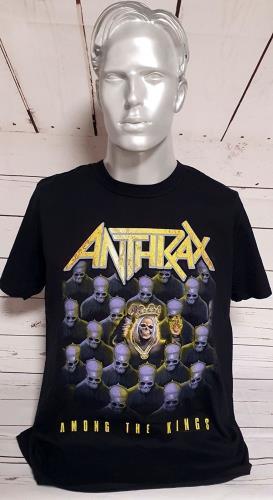 CHEAP Anthrax Among The Kings – Black – Large 2017 European t-shirt T-SHIRT 27260944763 – General Clothing