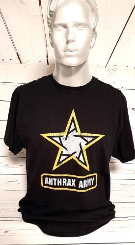 CHEAP Anthrax Anthrax Army T-Shirt – Large USA t-shirt T-SHIRT 27260944779 – General Clothing