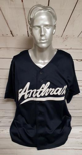 CHEAP Anthrax Anthrax Baseball Shirt – Large USA t-shirt T-SHIRT 27260945167 – General Clothing