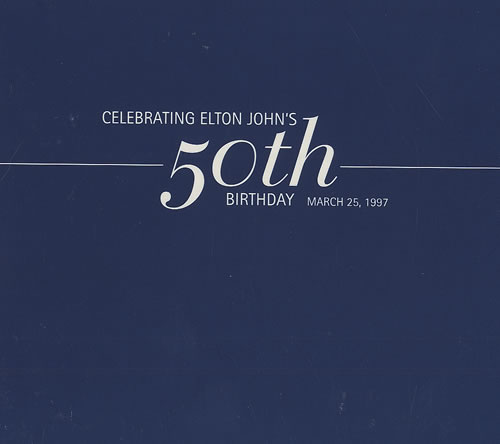 Elton John Celebrating Elton John's 50th Birthday Records