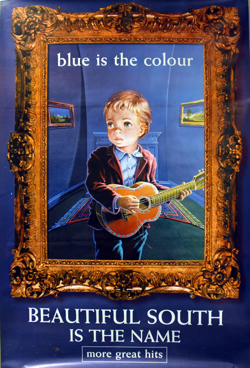 Beautiful South Blue Is The Colour Records Lps Vinyl And