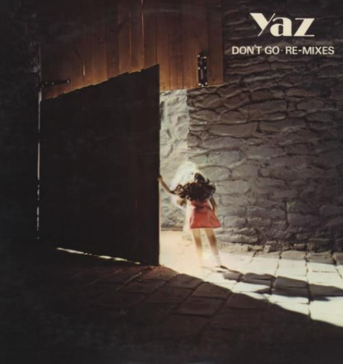"Upstairs At Eric S Yaz: Yazoo Don't Go Re-Mixes US 12"" Vinyl Single (12 Inch"