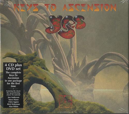 Yes Keys To Ascension Sealed Uk 5 Cd Album Set 567840