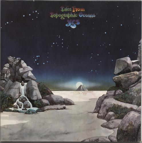 Yes Tales From Topographic Oceans German 2 Lp Vinyl Record