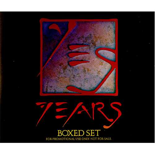 Yes Yesyears Us Promo 4 Cd Album Set 156168