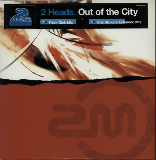 "Out Of The City 2 Heads UK 12"" vinyl single record (Maxi) promo 2M001DJ3 2M"