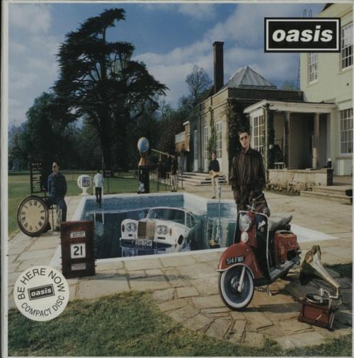 Oasis Be Here Now  CD  sealed 1997 UK cd album box set CRECD219
