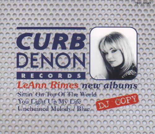 Leann Rimes Dj Copy 1998 Japanese CD album TDCL-91547