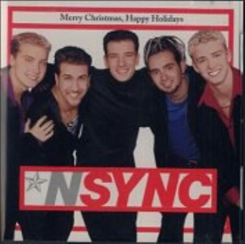 N Sync Merry Christmas Happy Holidays 1998 USA CD single RDJ656192