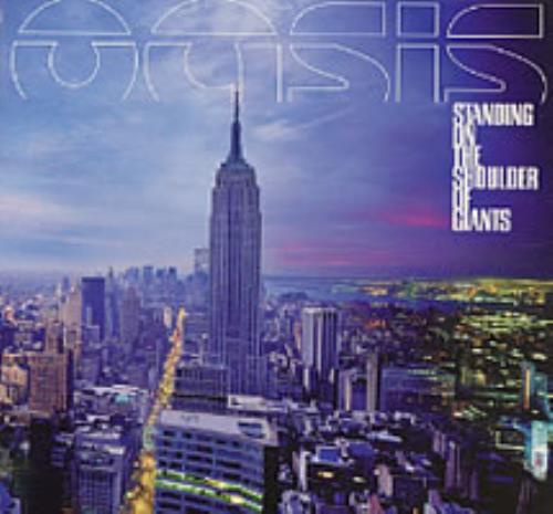 Oasis Standing On The Shoulders Of Giants 2000 UK CD album RKIDCD002P
