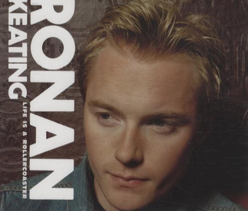 Ronan Keating Life Is A Rollercoaster 2000 UK CD single ROLLER1