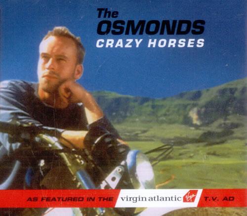 The Osmonds Crazy Horses 1999 UK CD single 5611372