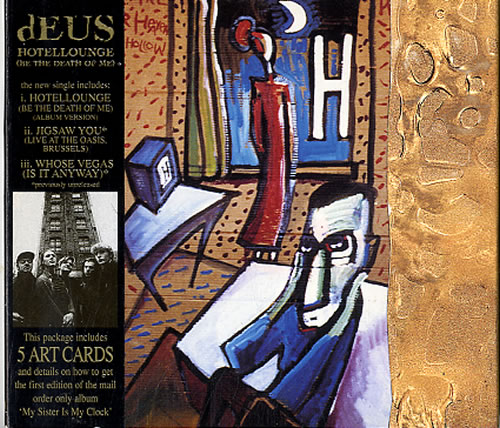 Deus Hotel Lounge 1995 UK CD single CID603