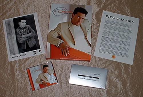 Oscar De La Hoya Oscar De La Hoya 2000 USA box set PROMO BOX