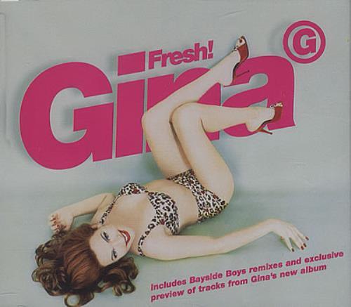Gina G Fresh 1997 UK CD single WEA095CD