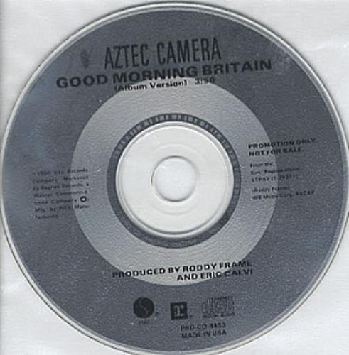 Aztec Camera Good Morning Britain 1990 USA CD single PROCD4453