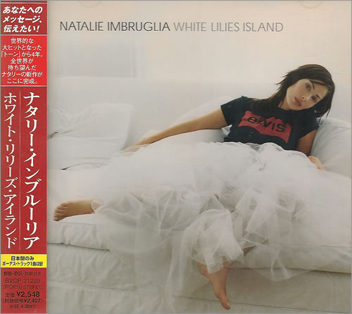 Natalie Imbruglia White Lilies Island 2001 Japanese CD album BVCP21229