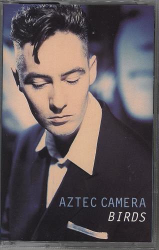 Aztec Camera Birds 1993 UK cassette single YZ754C