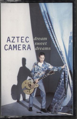 Aztec Camera Dream Sweet Dreams 1993 UK cassette single YZ740C