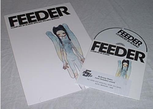 Feeder Comfort In Sound  Special Promo Edition 2002 UK press kit ECHPR43