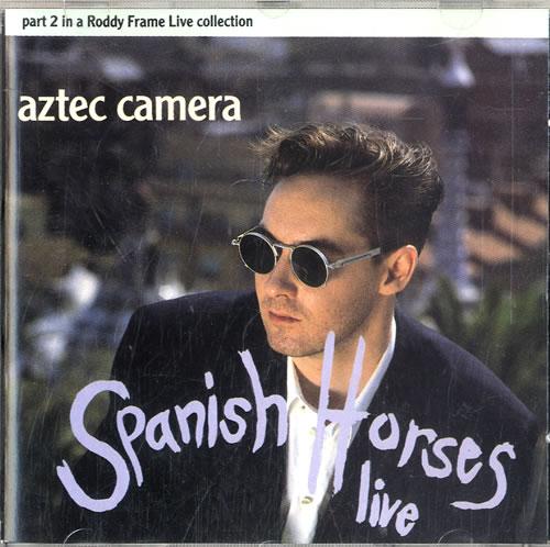 Aztec Camera Spanish Horses 1992 German 2CD single set YZ688CD12