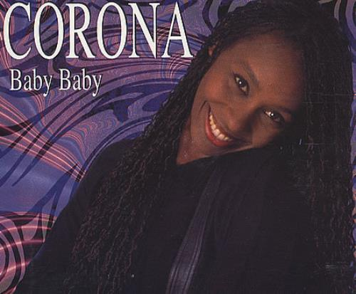 Corona Baby Baby 1995 UK CD single YZ919CD